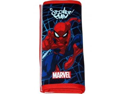 SEVEN Polstrování bezpečnostního pásu Spiderman polyester, 1x 9x18 cm