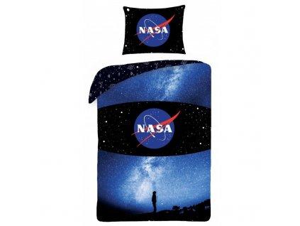 HALANTEX Povlečení NASA obloha Bavlna, 140/200, 70/90 cm