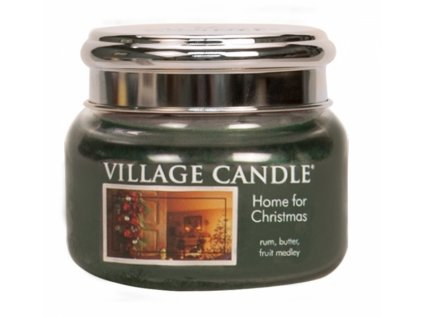 41831 village candle vonna svicka ve skle kouzlo vanoc home for christmas 11oz