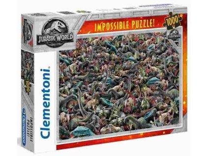 Puzzle Jurský svet Impossible 1000 dílků