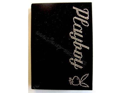 Zápisník Playboy Diamonds black A6