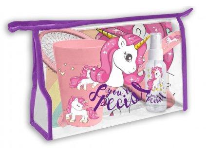 Kosmetická taška vybavená Jednorožec skladem