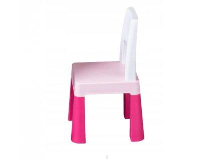 Tega Baby Přídavná židlička pro děti Multifun - růžová
