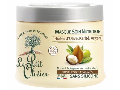 47657 13185 le petit olivier vyzivujici maska pro suche a poskozene vlasy 330ml