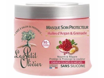 47662 13189 le petit olivier ochranna maska pro barvene vlasy 330ml
