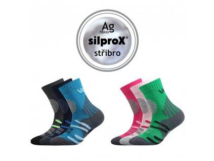Dětské ponožky s froté zesíleným chodidlem Horalik