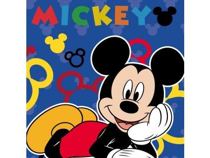 FARO Magický ručníček Mickey blue Bavlna - Froté, 30/30 cm