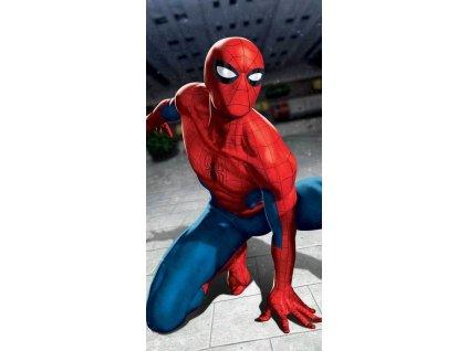 JERRY FABRICS Osuška Spiderman Blue 03 Bavlna - Froté, 70/140 cm