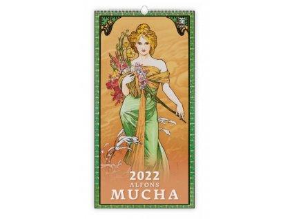 kalendar alfons mucha 2022