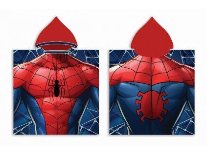 FARO Pončo Spiderman Bavlna - Froté, 50/100 cm