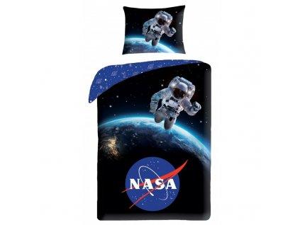 HALANTEX Povlečení ve vaku NASA astronaut Bavlna, 140/200, 70/90 cm