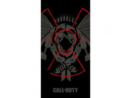 HALANTEX Osuška Call of Duty Bavlna - Froté, 70/140 cm