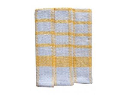 Polášek Kuchyňské utěrky z Egyptské bavlny 3 ks vzor č.55 Bavlna