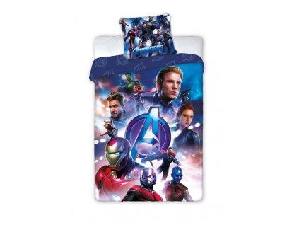 FARO Povlečení Avengers Endgame Bavlna, 140/200, 70/90 cm