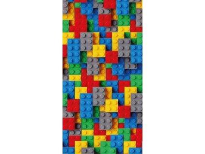 DETEXPOL Osuška Kostky color Bavlna - Froté, 70/140 cm