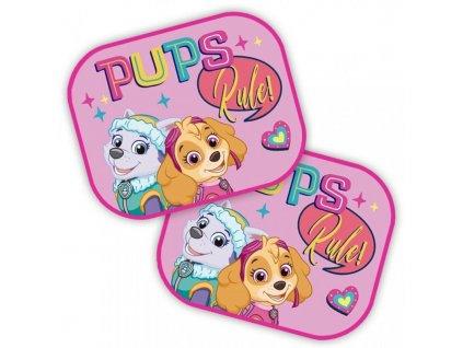 SEVEN Sluneční clony Paw Patrol Pups Polyester, 2ks