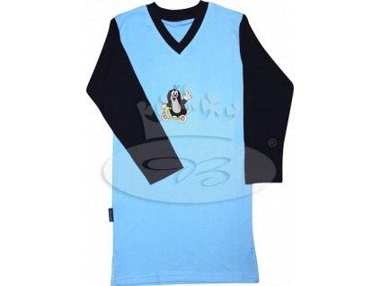 Dívčí noční košile dlouhý rukáv KRTEČEK 008 vzor D