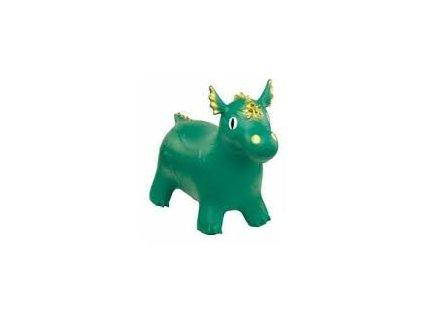 HOPSADLO pony DRÁČEK zelený
