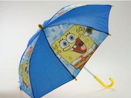 Vystřelovací deštník SpongeBob
