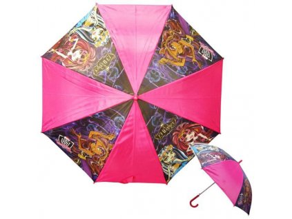 Vystřelovací deštník Monster High 13 přání