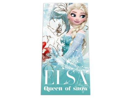 Osuška Ledové Království Elsa 70/140 cm