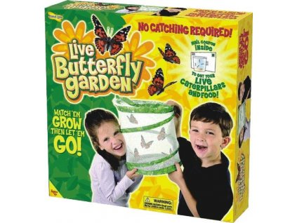 Motýlí zahrádka (3-5 housenek) - Butterfly Garden 1010