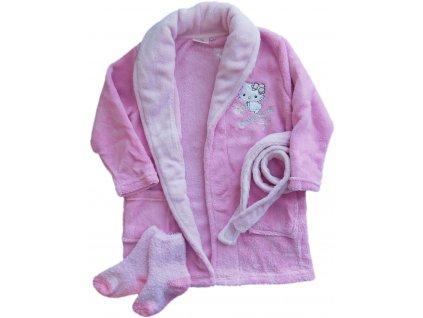 Župan Hello Kitty-Charmmy Kitty růžový 2011
