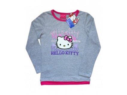 Triko Hello Kitty šedé 1116