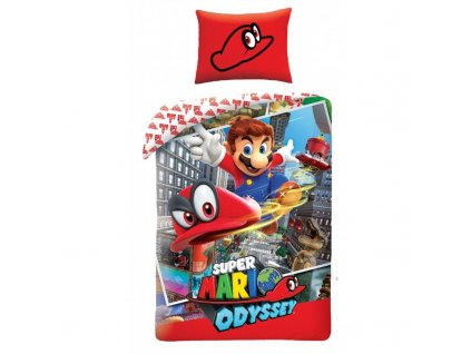Povlečení Super Mario 140/200, 70/90