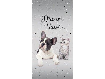 Osuška Sweet Animals Dream Team 70/140