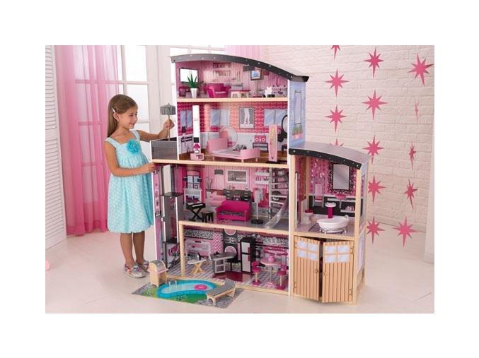 KidKraft Domeček pro panenky Mansion Sparkle