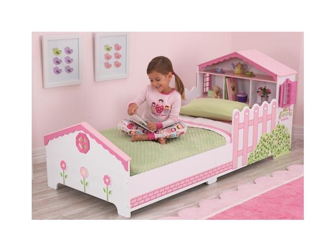KidKraft Dětská postel DOMEČEK PRO PANENKY