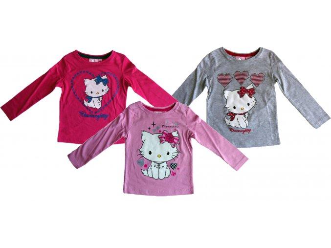 Triko Hello Kitty dlouhý rukáv 1303