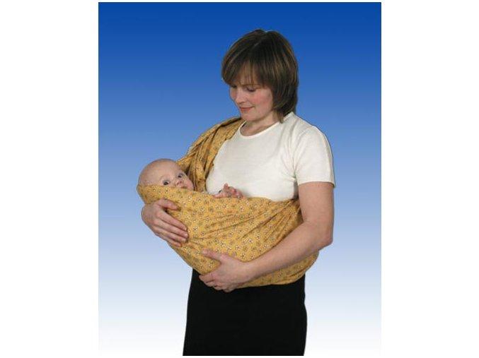 Babyvak od Pechů - žluté kopretinky
