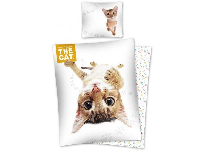 Povlečení The Cat Habešská kočka 140/200 SKLADEM