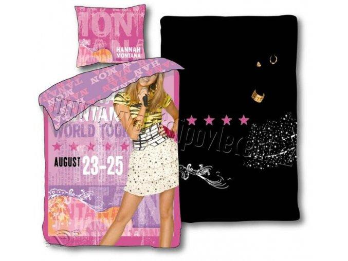 Dětské povlečení Hannah Montana Summer 140/200 - skladem