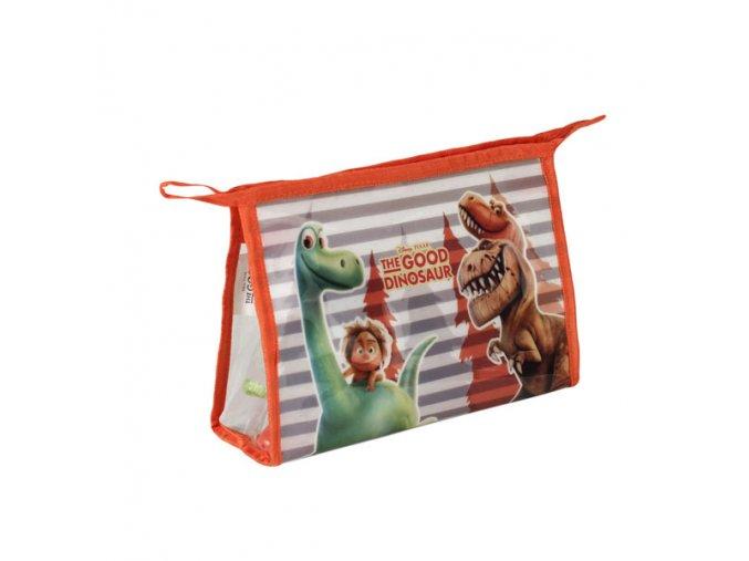 Kosmetická vybavená taška Hodný Dinosaurus