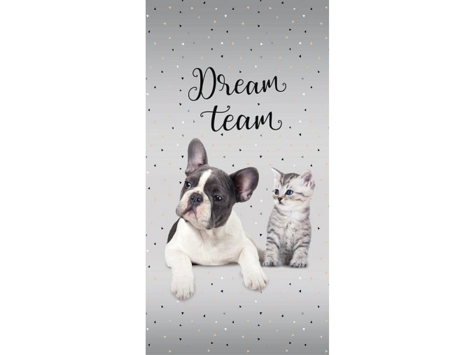 Osuška Sweet Animals Dream Team 70/140