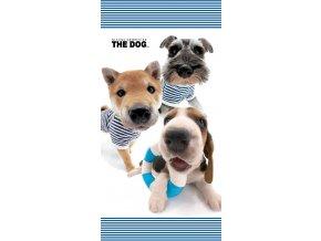 Osuška The Dog Námořníci 70/140 - skladem