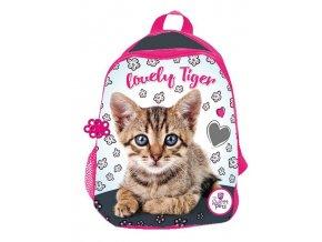 BENIAMIN Dětský batůžek Sweet Pets Kotě pink  Polyester, 29 cm