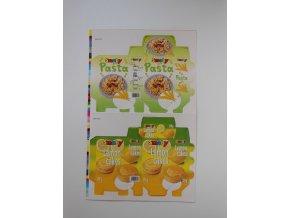 krabička těstoviny koláčky 1x 1