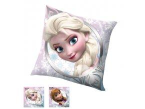 Polštářek Ledové Království Anna a Elsa 40/40 cm