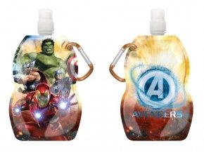Láhev na pití s karabinou Avengers 330 ml