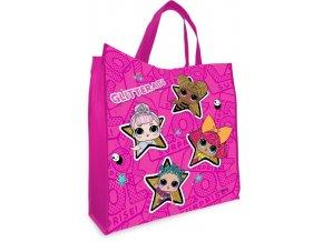 Dětská nákupní taška LOL pink 38 cm