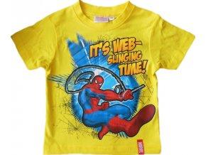 Triko Spiderman s krátkým rukávem 1096