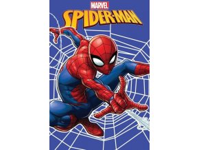 Fleece deka Spiderman web 100/150
