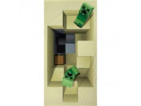Osuška Minecraft 70/140 - skladem