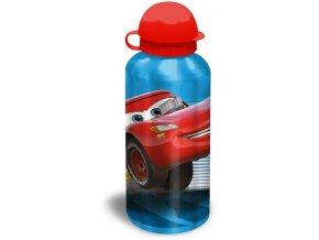 EUROSWAN ALU láhev Cars blue Hliník, Plast, 500 ml