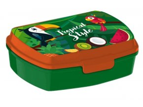 EUROSWAN Box na svačinu Tukan Plast, 16 x 12 x 5 cm