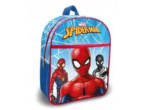 EUROSWAN Dětský batoh s kapsou Spiderman blue Polyester, 30 cm